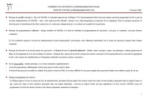 Charte programmation NACEL