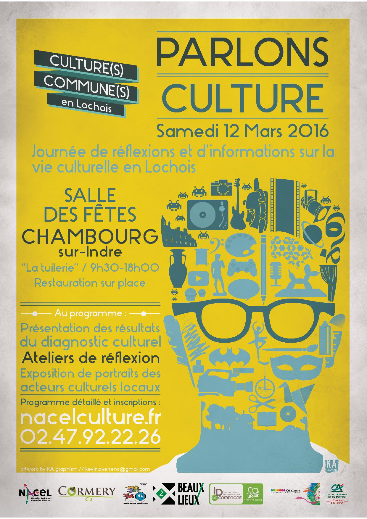 Affiche Parlons Culture -